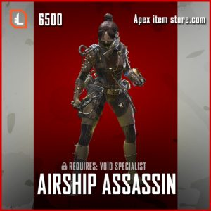 Airship Assassin legendary apex legends wraith skin