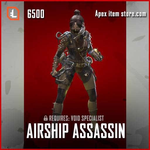 Airship Assassin legendary apex legends wraith skin