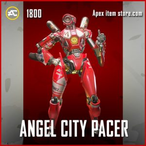 Angel City Pacer Legendary Apex Legends pathfinder skin