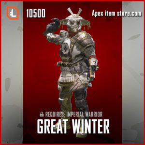 Great Winter Legendary apex legends bloodhound skin