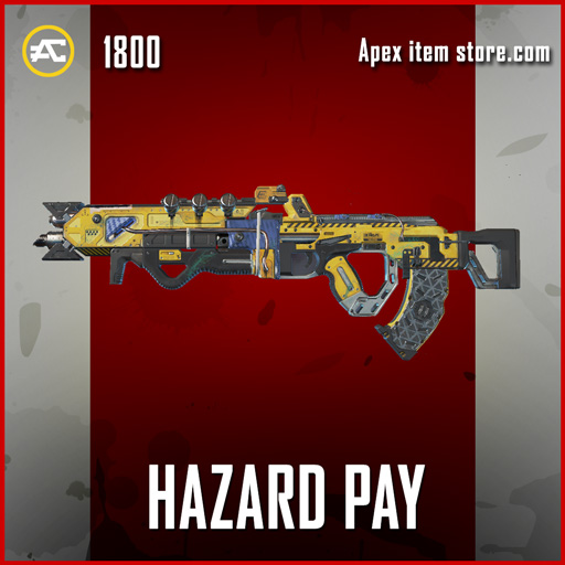 Hazard Pay legendary apex legends flatline skin