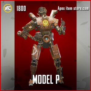 Model P Legendary Apex Legends pathfinder skin