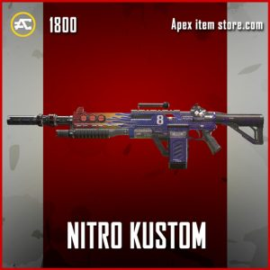 Nitro Kustom apex legends legendary devotion gun skin