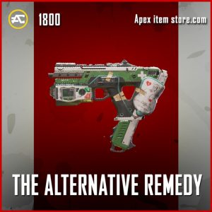 The alternative remedy legendary apex legends gun skin