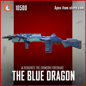 The Blue Dragon legendary apex legends G7 Scout skin