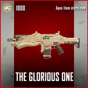 The Gloriious one apex legends legendary hemlok gun skin