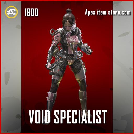 Void Specialist legendary apex legends wraith skin