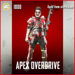 Apex Overdrive legendary Bangalore apex legends skin