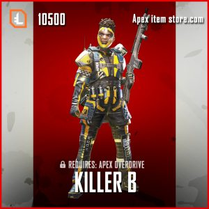 Killer B legendary Bangalore apex legends skin
