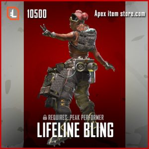 Lifeline Bling Legendary apex legends lifeline skin