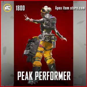 Peak Performer apex legends legendary lifeline skin