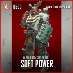 Soft Power legendary apex legends gibraltar skin