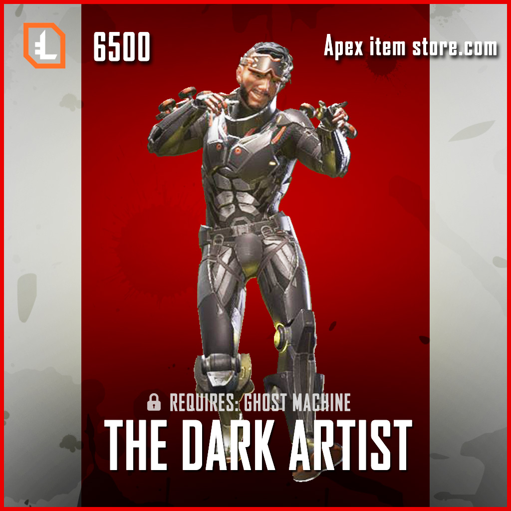 The Dark Artist legendary apex legends mirage skin