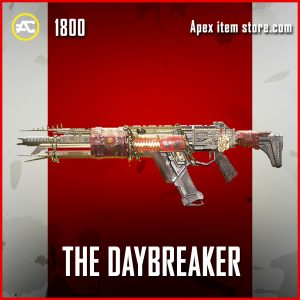 The Daybreaker legendary apex legends gun skin