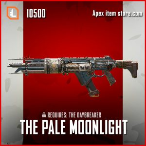 The Pale Moonlight legendary apex legends R-301 gun skin