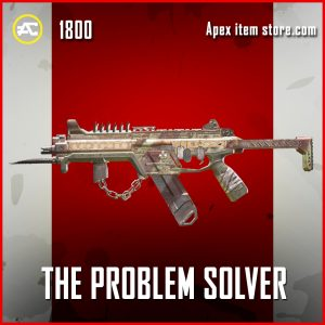The Problem Solver legendary apex legends R-99 gun skin
