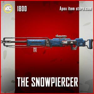 The Snowpiercer legendary apex legends kraber skin