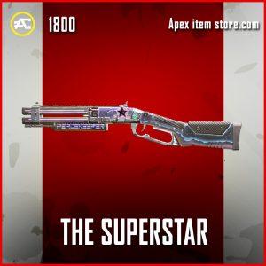 The Superstar legendary apex legends peacekeeper gun skin