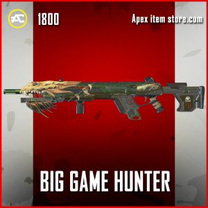 Big Game Hunter legendary longbow apex legends skin