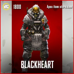 Blackheart legendary Caustic apex legendsskin