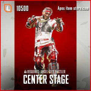 Center Stage Mirage legendary apex legends skin