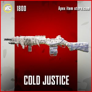 Cold Justice legendary G7 Scout apex legends skin