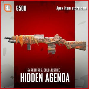 Hidden Agenda legendary G7 Scout apex legends skin