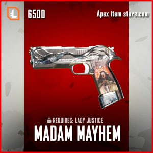 Madam Mayhem Legendary P2020 apex legends skin