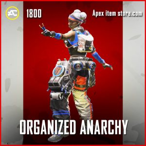 Organized Anarchy Legendary lifeline apex legends skin
