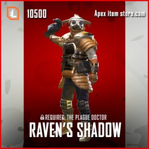 Ravens Shadow legendary bloodhound skin apex legends