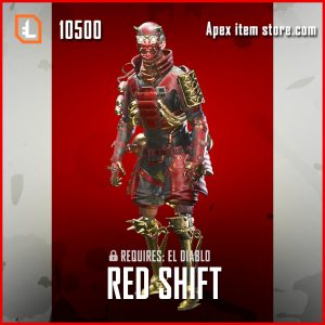 Red Shift legendary octane skin