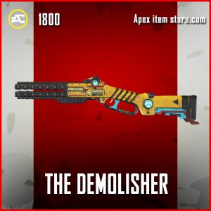 The Demolisher legendary peacekeper apex legends skin shotgun