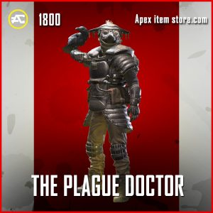 The Plague Doctor legendary bloodhound skin apex legends