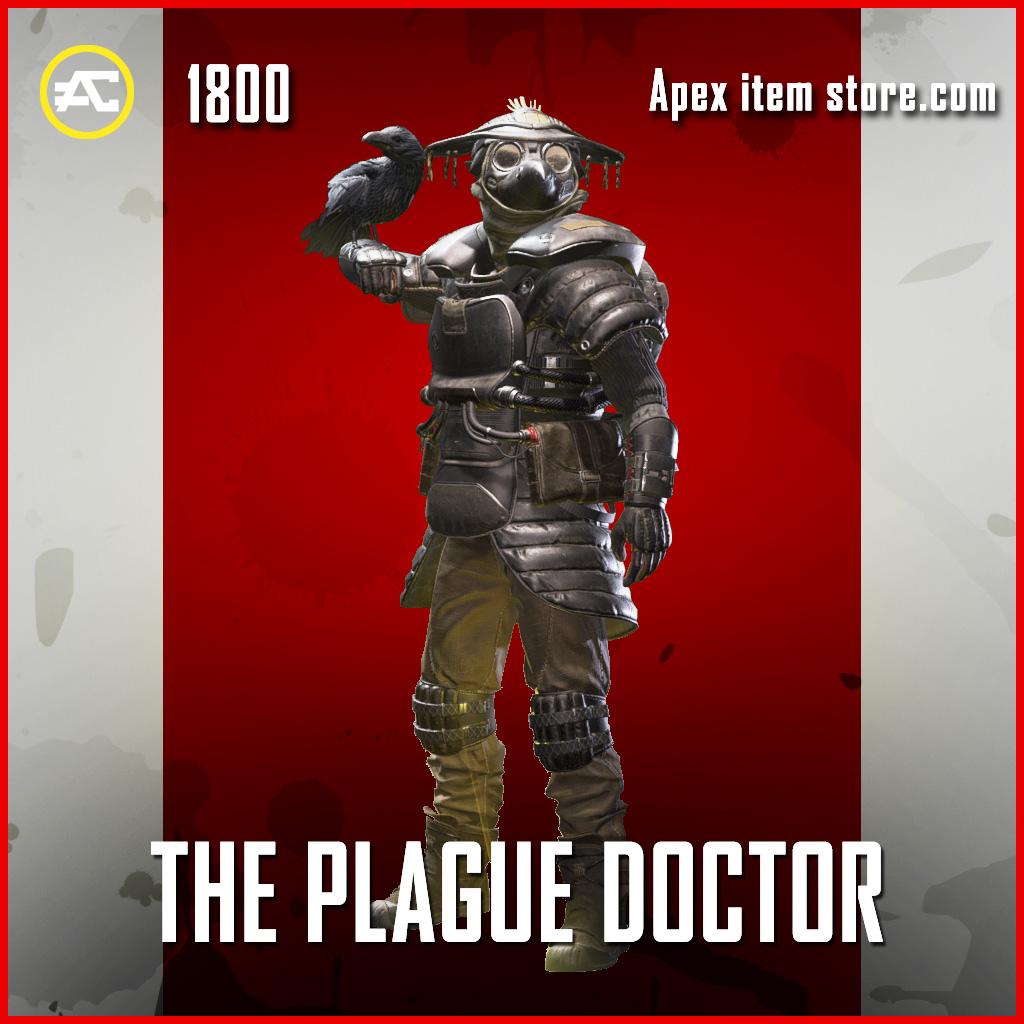 The Plague Doctor legendary bloodhound skin apex legends
