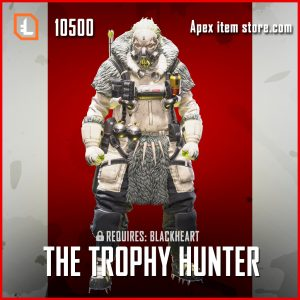 The Trophy Hunter legendary Caustic apex legendsskin