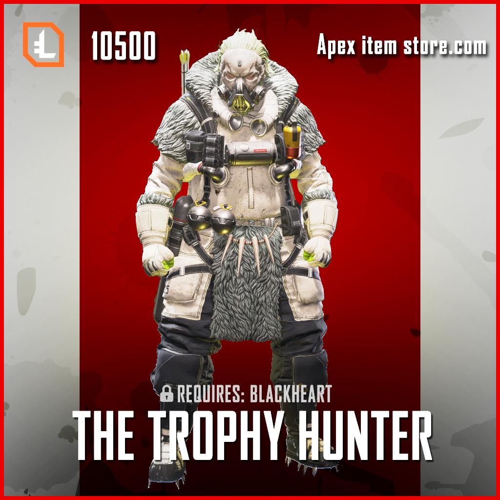 The Trophy Hunter legendary Caustic apex legendsskin