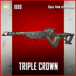 Triple Crown Legendary Triple Take apex legends skin