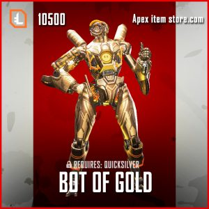 Bot of Gold pathfinder legendary apex legends skin