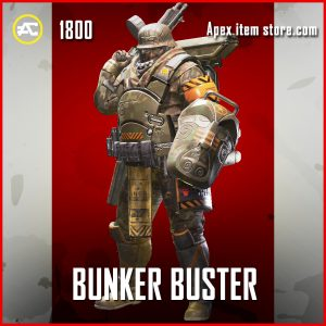 Bunker Buster gibraltar legendary apex legends skin