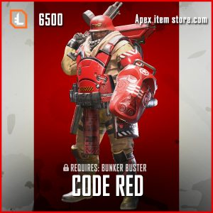 Code Red gibraltar legendary apex legends skin