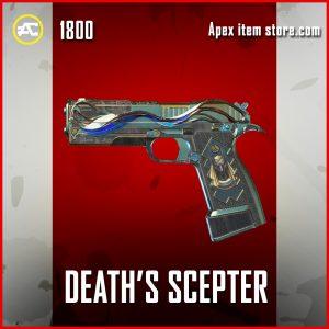 Death's Scepter P2020 legendary apex legends skin