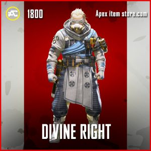 Divine Right legendary Caustic apex legends skin