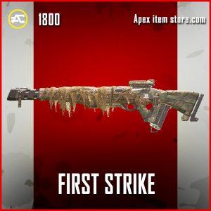 First Strike legendary triple take apex legends skin