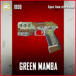 Green Mamba P2020 Legendary apex legends skin