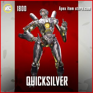 Quicksilver pathfinder legendary apex legends skin