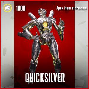 Quicksilver pathfinder legendary apex legends skin