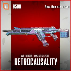 Retrocausality legendary R-301 apex legends  skin