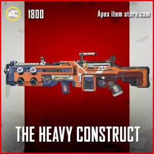 The Heavy Construct legendary Spitfire apex legends skin