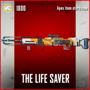 The Life Saver kraber legendary apex legends skin