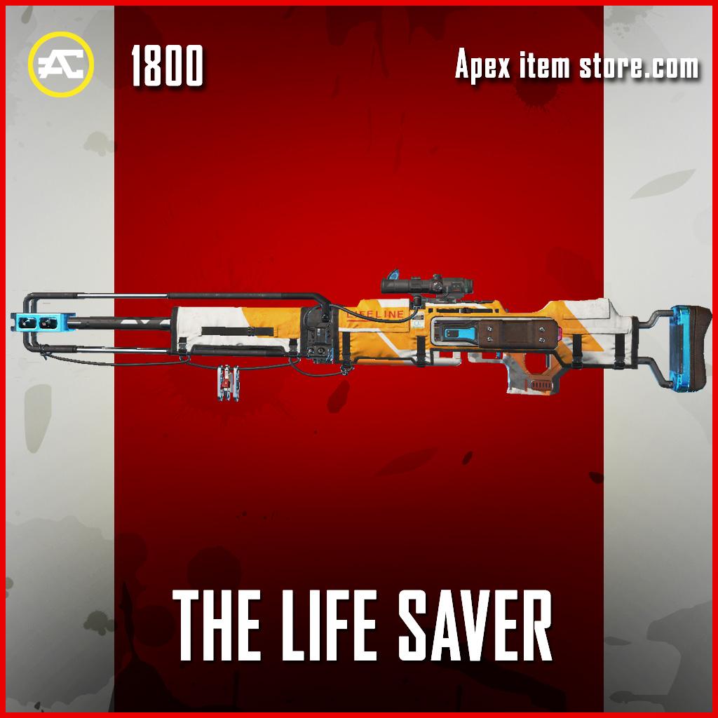 The Life Saver kraber legendary apex legends skin